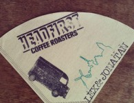 de Koffiefilter van Headfirst Coffee Roasters