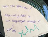 de Koffiefilter van Olga van Weelie - Marie Louise van Dorp