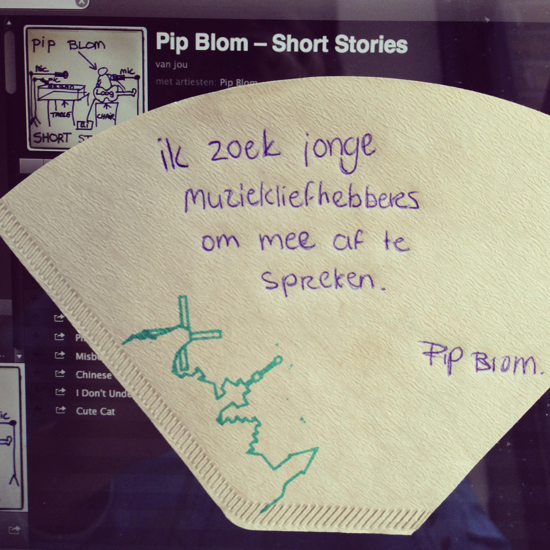 de Koffiefilter van Pip Blom